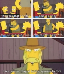 Still by far my favourite Simpsons scene