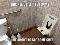 Still LMAO every time Buckle up little Timmy