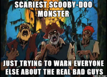 Still the scariest Scooby-Doo monster of all time and the most misunderstood