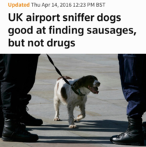 Stop the sausage smuggling