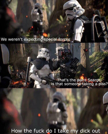 Stormtroopers have it harder than you think