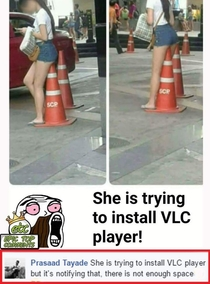 Story Of A VLC Install  lol