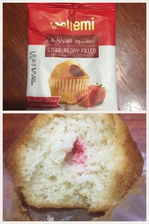 Strawberry filled