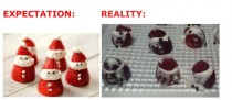 Strawberry Santa Fail