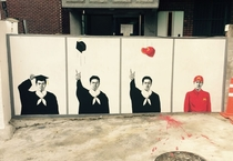 Street art in Korea