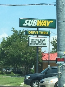 Subway sure doesnt mess around with their puns