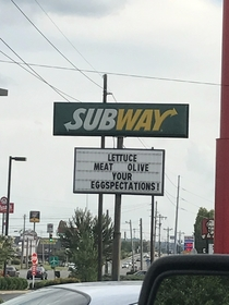Subway thinks theyre cute