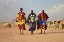 Superheroes African style