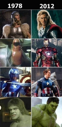 Superheroes from