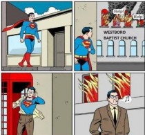 Superman Help us