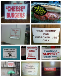 Suspicious quotation marks