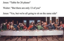 Table for  please
