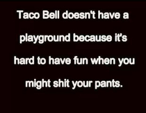 Taco Bell playgrounds
