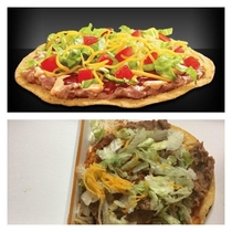 Taco Bell Spicy Tostada or not