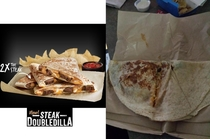 Taco Bells new Steak DoubleDilla x the steak