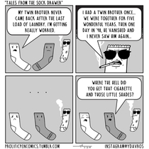 Tales From The Sock Drawer