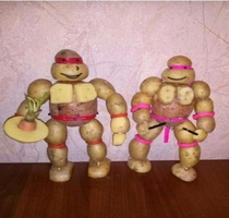 Teenage Mutant Ninja Potatoes