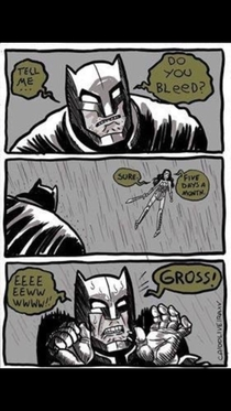 Tell me do you bleed