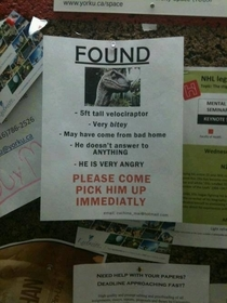 Thank god someone found him