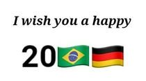 Thank you brazil Germany
