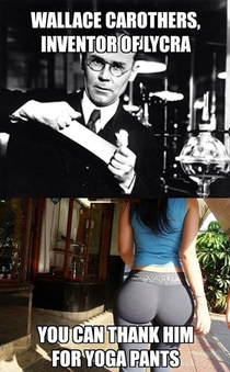 Thank you Wallace Carothers thank you so much