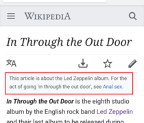 Thanks for the clarification Wikipedia