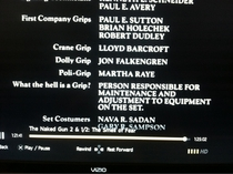 Thanks to the credits of Naked Gun   I finally know what a Grip does