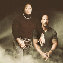 That time Dwayne Johnson first met The Rock