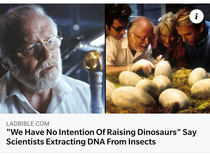 Thats exactly what someone secretly raising dinosaurs would say