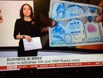 Thats not Indian currency BBC its Nepali