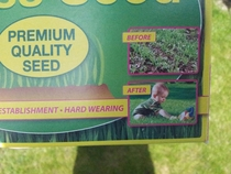 Thats some powerful Lawn seeds