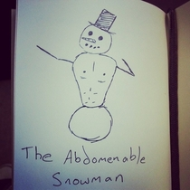 The abdomenable snowman