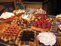 The Americans are asleep Post picture of Belgium Waffles