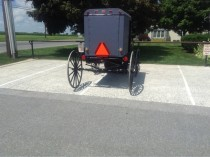 The Amish have asshole parkers too