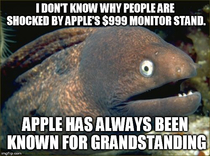 The Apple monitor stand is nothing new