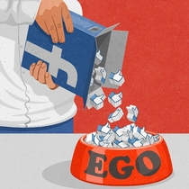 The artist John Holcroft brings it to the point