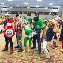 The avengers fell into some hard times once the war was over