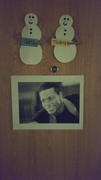 The beauty of college dorm nametags