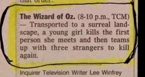 The Best Film Synopsis Ever