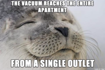 The best part of a modest apartment