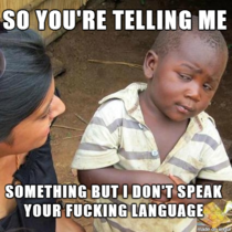 The best Skeptical Third World Kid