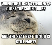 The best thing when flying