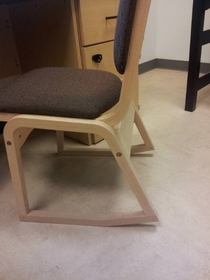The chair that gave me a small heart attack