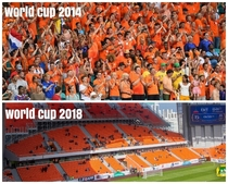 The color orange is still present this world cup