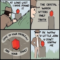 The Crystal Which Utters Only Truth