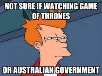 The current state of the Australian Government