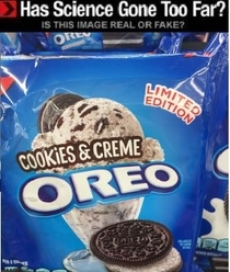 The cycle is complete Oreo has ascended to its true form