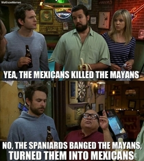 The difference between Mexicans and Mayans