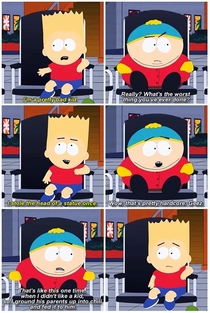 The difference between The Simpsons and South Park