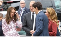 The face you make when u married to a prince but then u meet justin trudeau